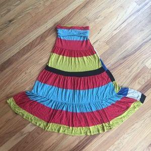 American Rag, Bold, Sleeveless summer maxi dress